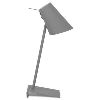 Lampa stołowa CARDIFF, ciemnoszara