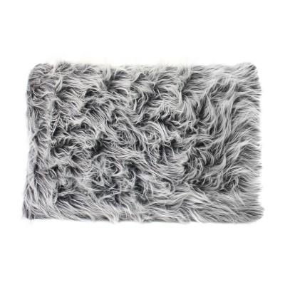 cushion (fur-like) black