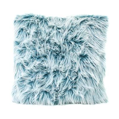 cushion (fur-like) blue