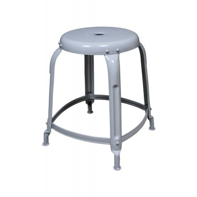 metal stool grey