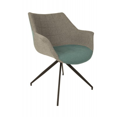 Fotel Doulton niebieski