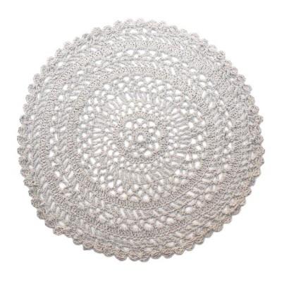Okrągły dywan wełniany