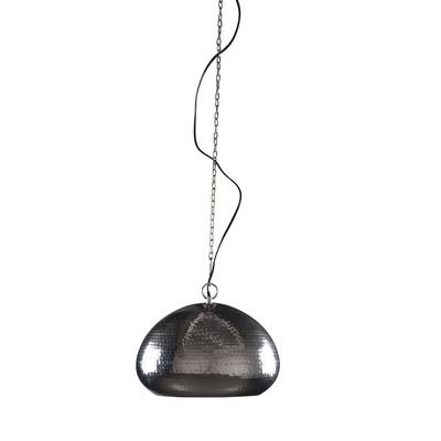 Lampa HAMMERED OVAL niklowana