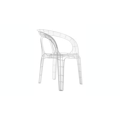 krzesło wire white