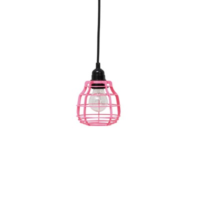 lab lamp brigh pink (with pendle)