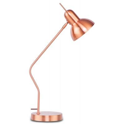 Lampa stołowa NOTTINGHAM miedziana
