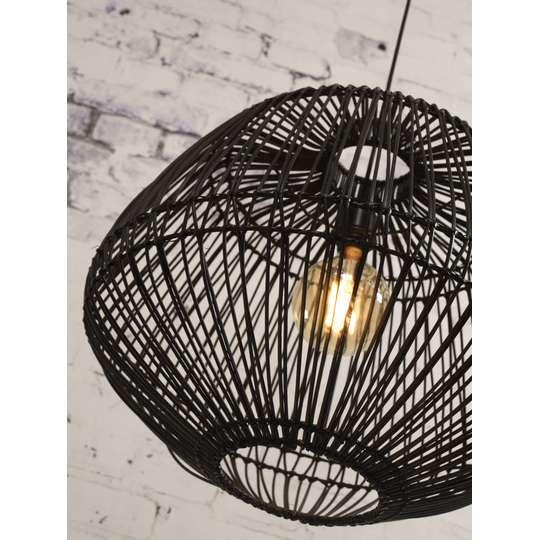 Lampa wisząca MADAGASCARH50B czarna sklep DutchHouse.pl